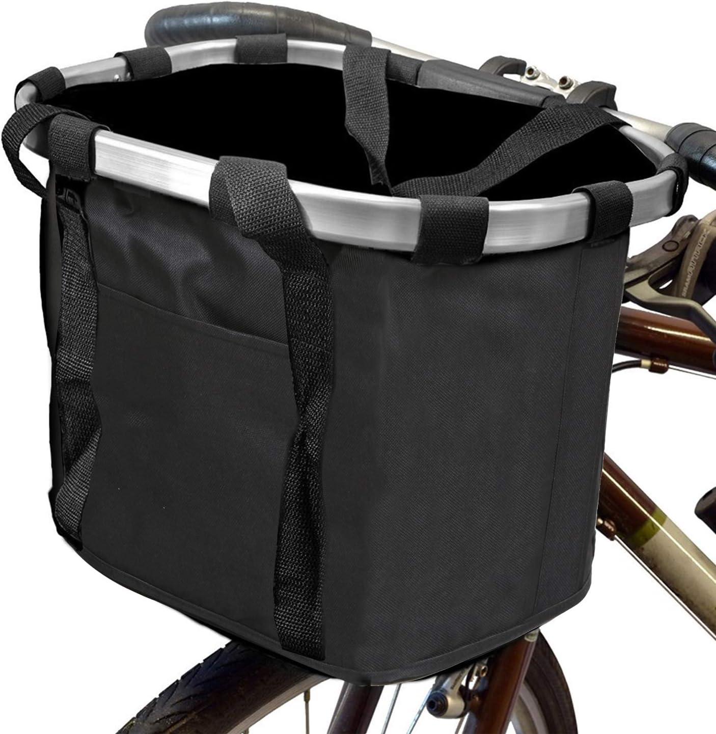 Harlequin Gray Pink and Black Lattice Quatrefoil Bike Basket liner  For Quick Release Basket