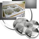 sidco 4 x herdabdeckplatten herdplatten herdabdeckplatte abdeckung herdabdeckungen. Black Bedroom Furniture Sets. Home Design Ideas