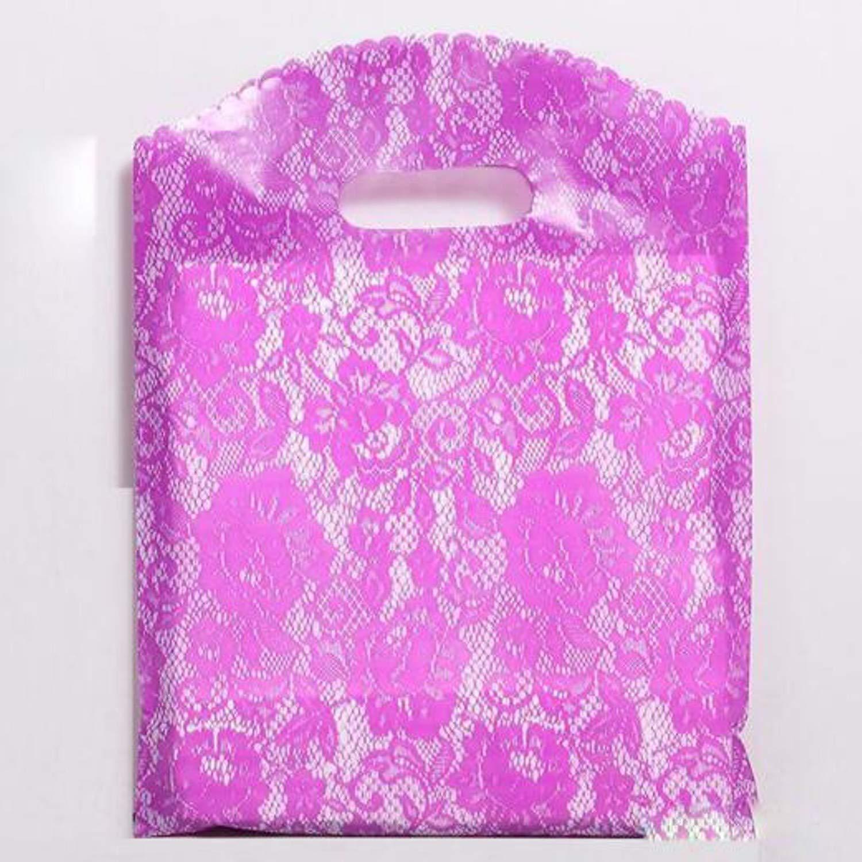Amazon Com Jewh High Quality Custom Gift Bags Plastic Shopping Bags