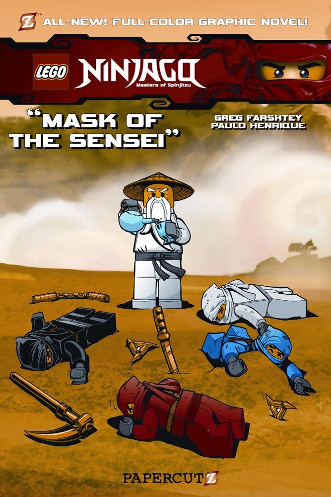 Mask Sensei Ninjago Greg Farshtey product image