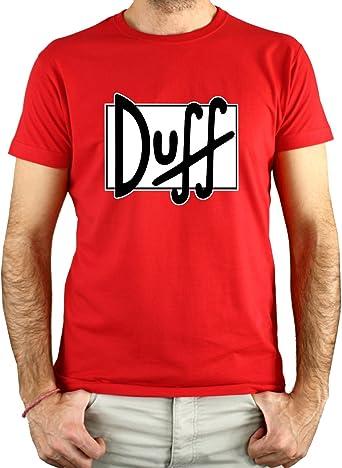 PLANETACAMISETA Camiseta Hombre - Unisex Cerveza Duff
