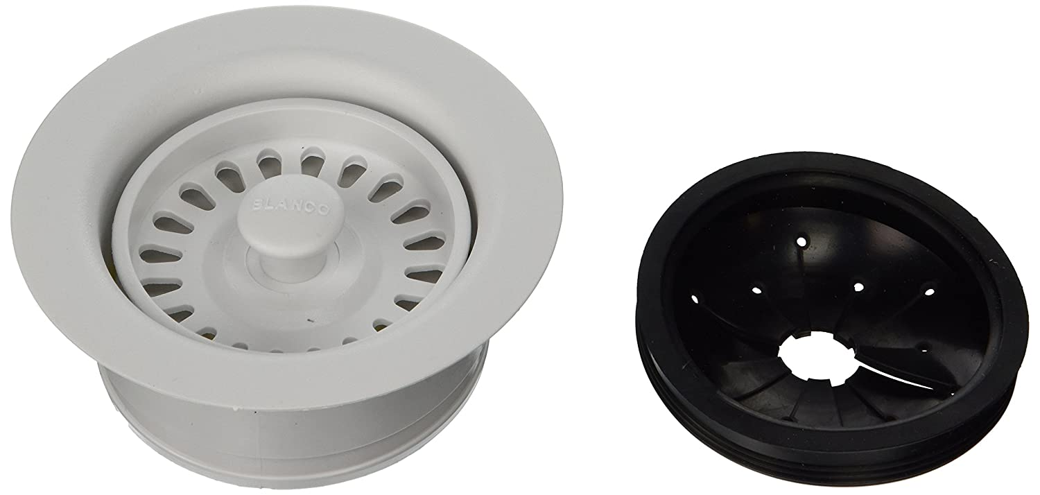 Blanco BL441095 Silgranit II Coordinated Sink Waste Disposer Stopper And  Strainer, Anthracite   Faucet Flanges   Amazon.com