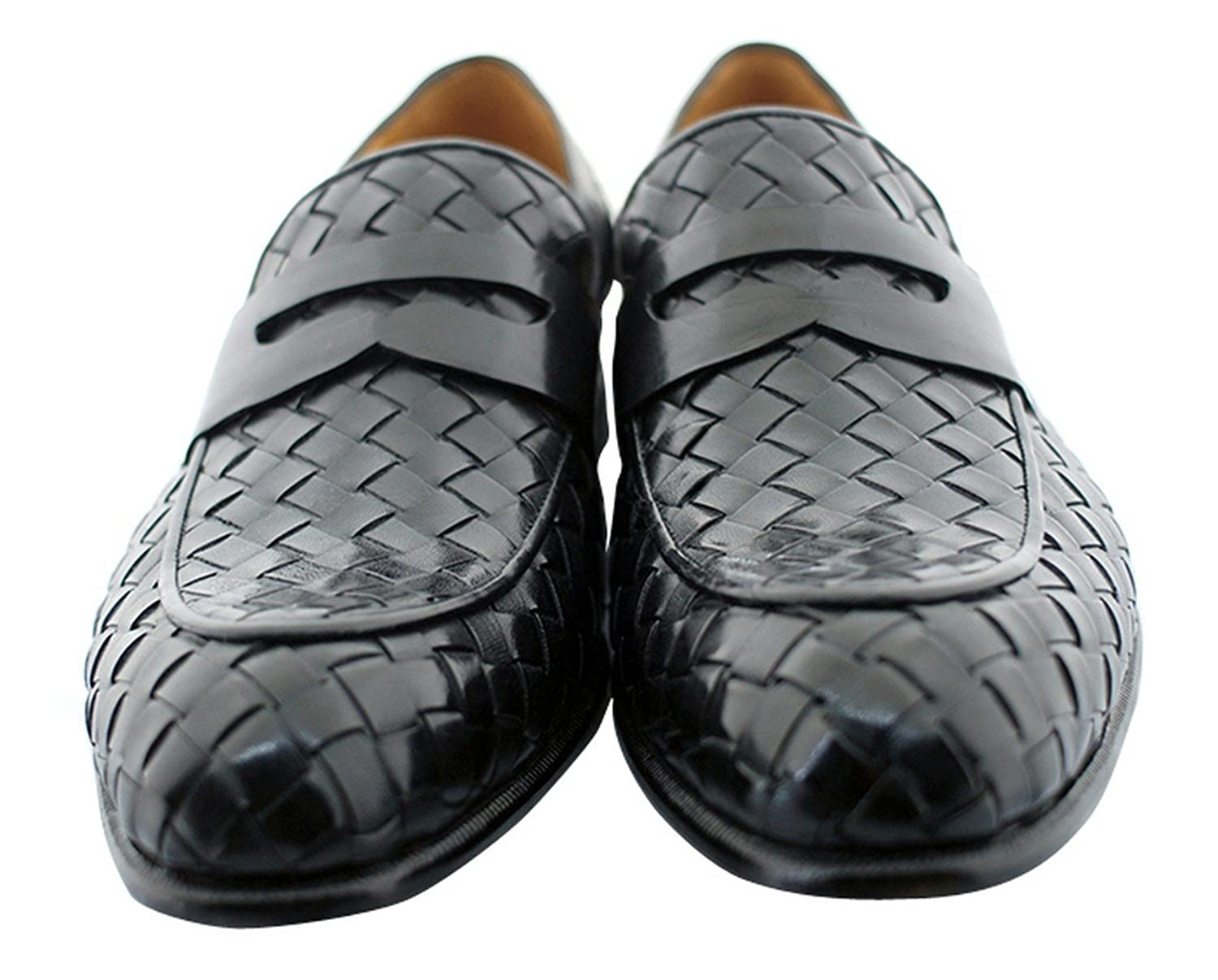 Black Battersea Men's Luxury Classic Handmade Leather Shoes