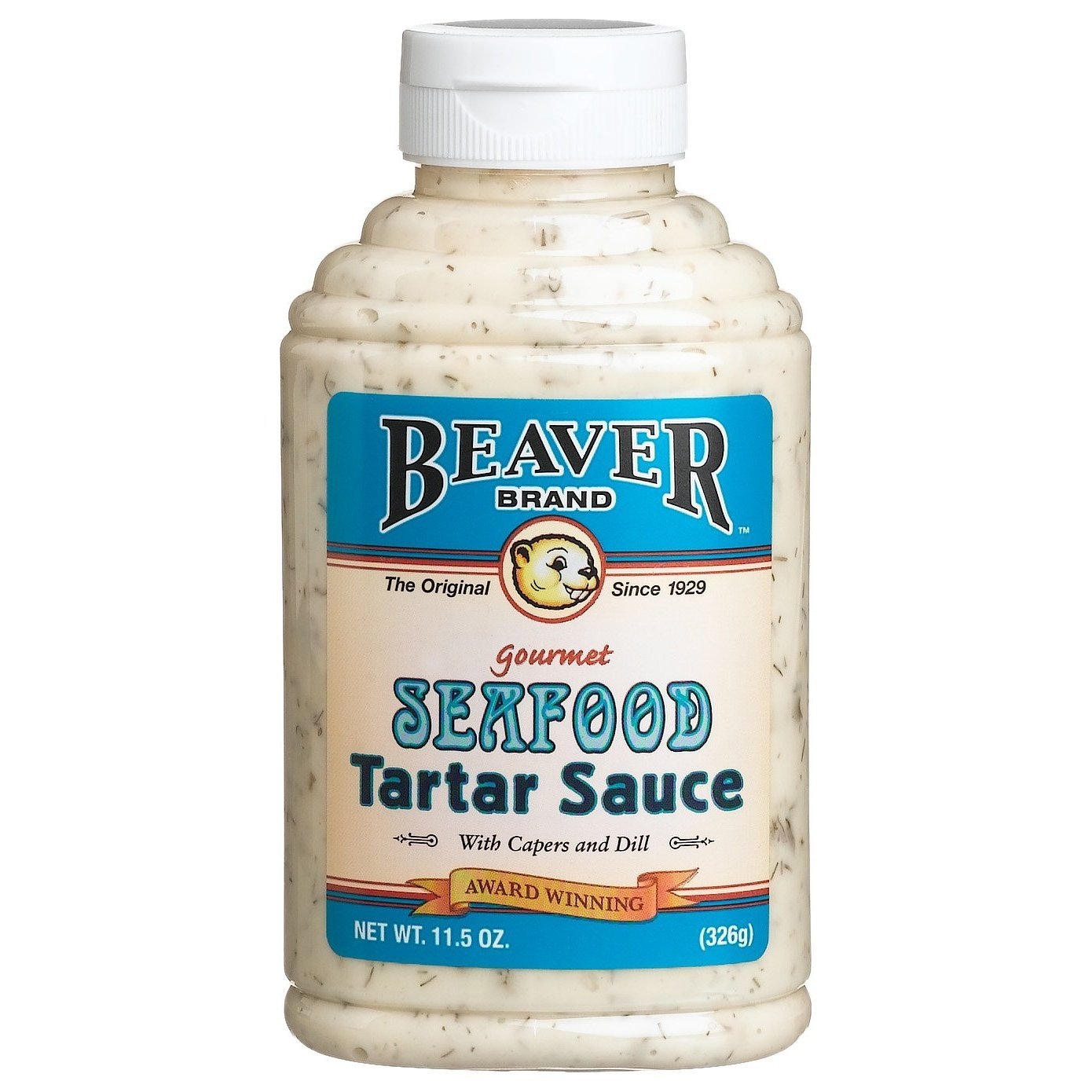 BEAVER Brand Seafood Tartar Sauce, 11.5 Ounce Squeezable Bottle(Pack of 12)