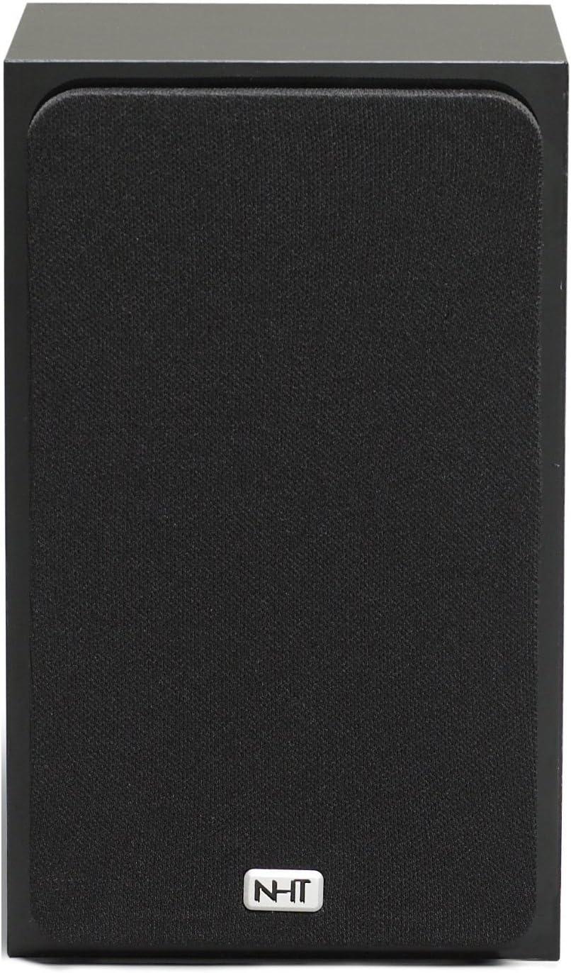 NHT SuperZero 2.1 Premium Sealed Box Mini-Monitor Speaker, Single, Gloss Black