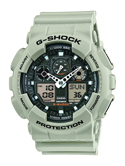 afe22f1f8495 Casio GA-100SD-8AER - Reloj analógico y digital de cuarzo para hombre con