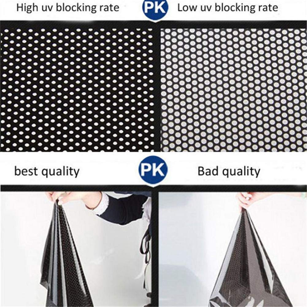 Car Sun Shade 72 cm misura XL 2 pellicole elettrostatiche parasole per auto