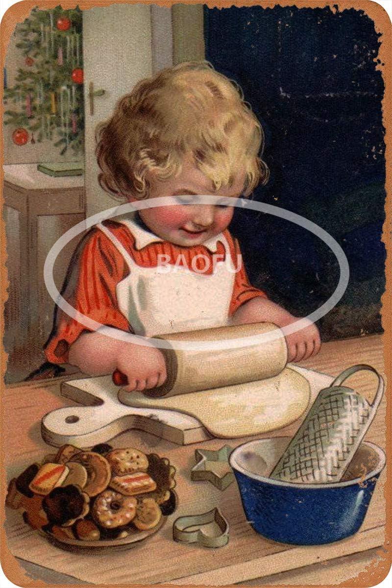 Wild boy Good Housekeeping 5 Targhe in Metallo Vintage con pubblicit/à retr/ò Targhe da Muro da Originale Cafe Bar Pub Carnival