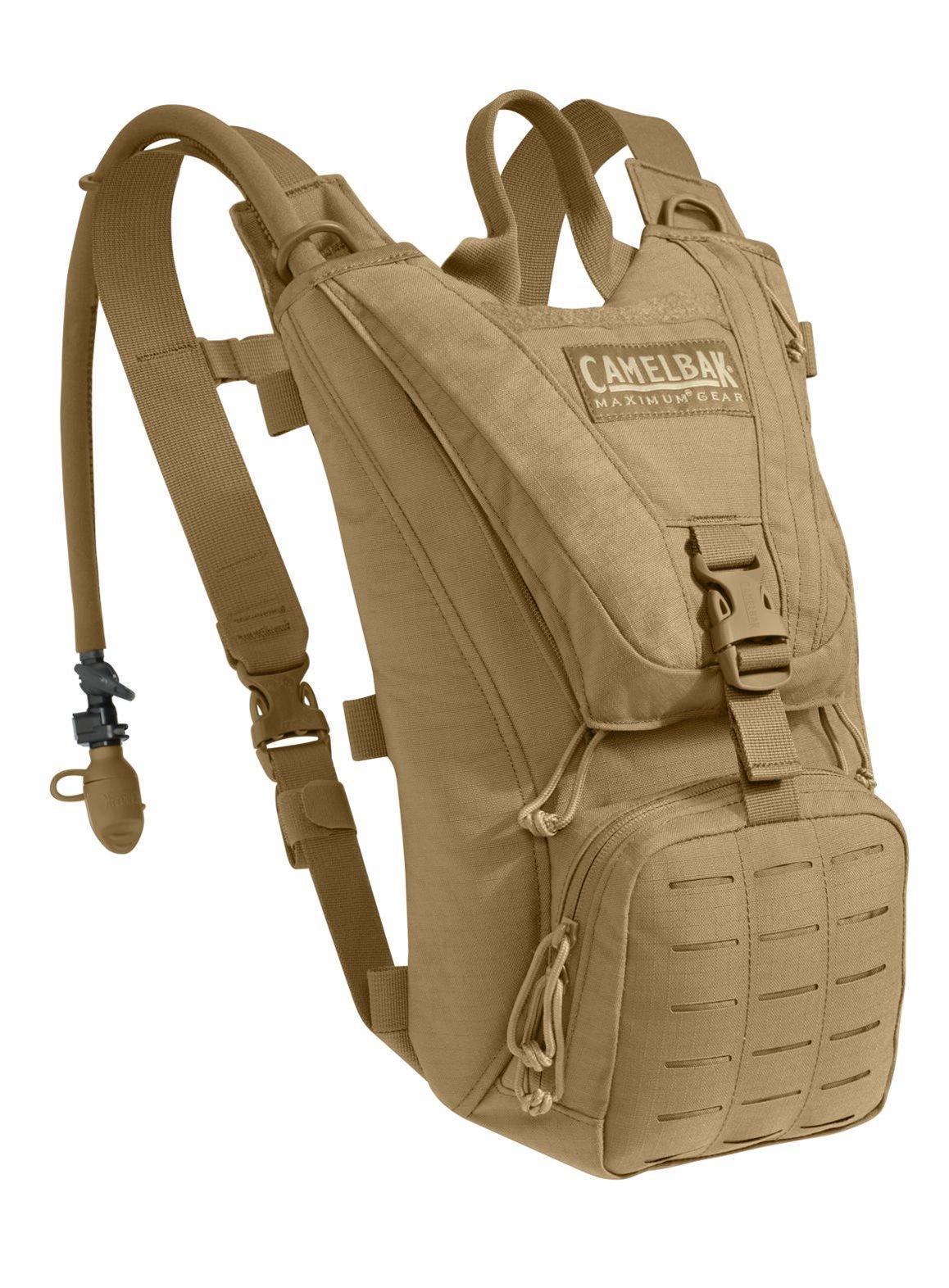 CamelBak Ambush, 100oz / 3L Mil-Spec Antidote Resevoir, Coyote Tan