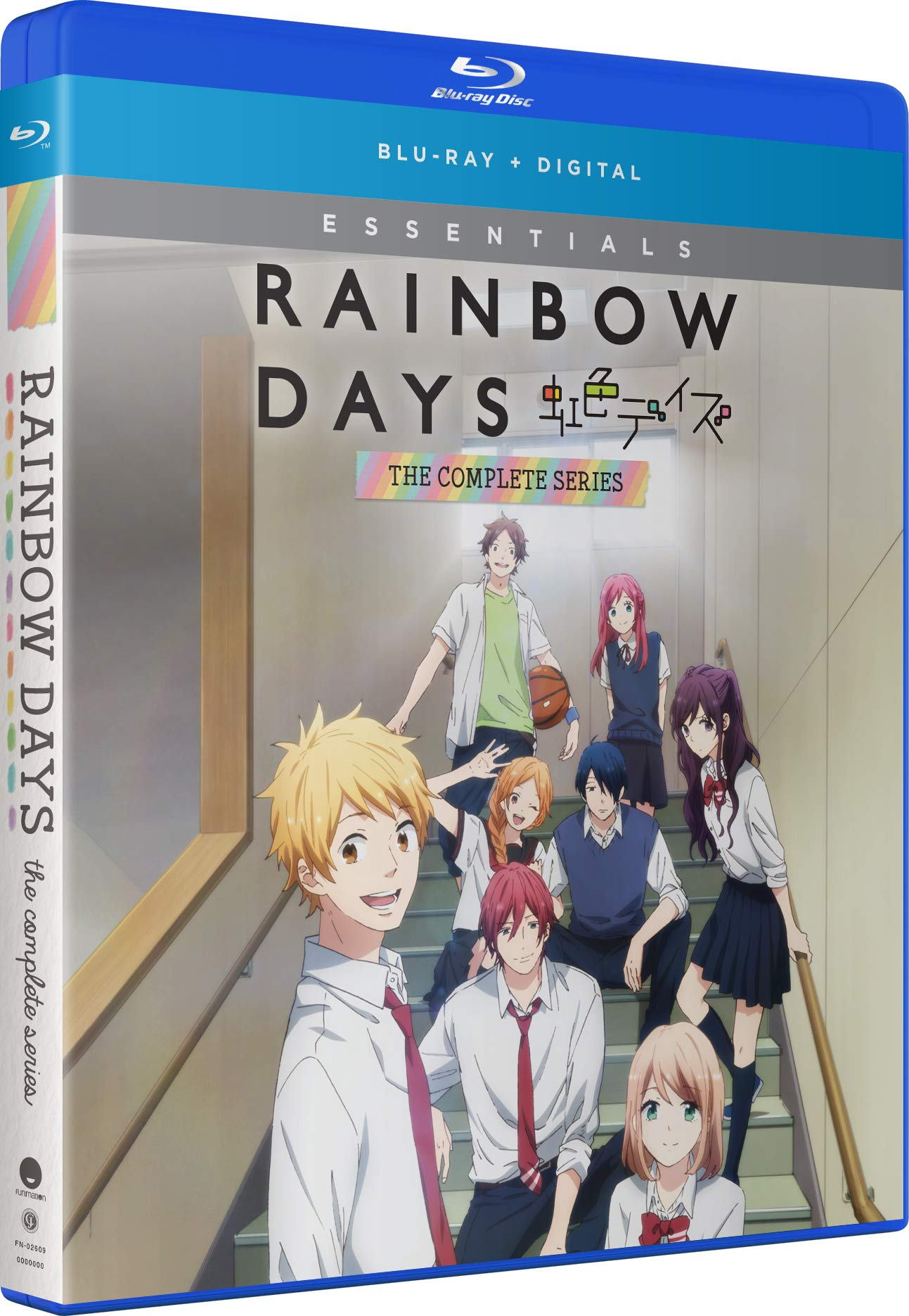 Blu-ray : Rainbow Days: The Complete Series (2 Pack, Subtitled, Digital Copy)