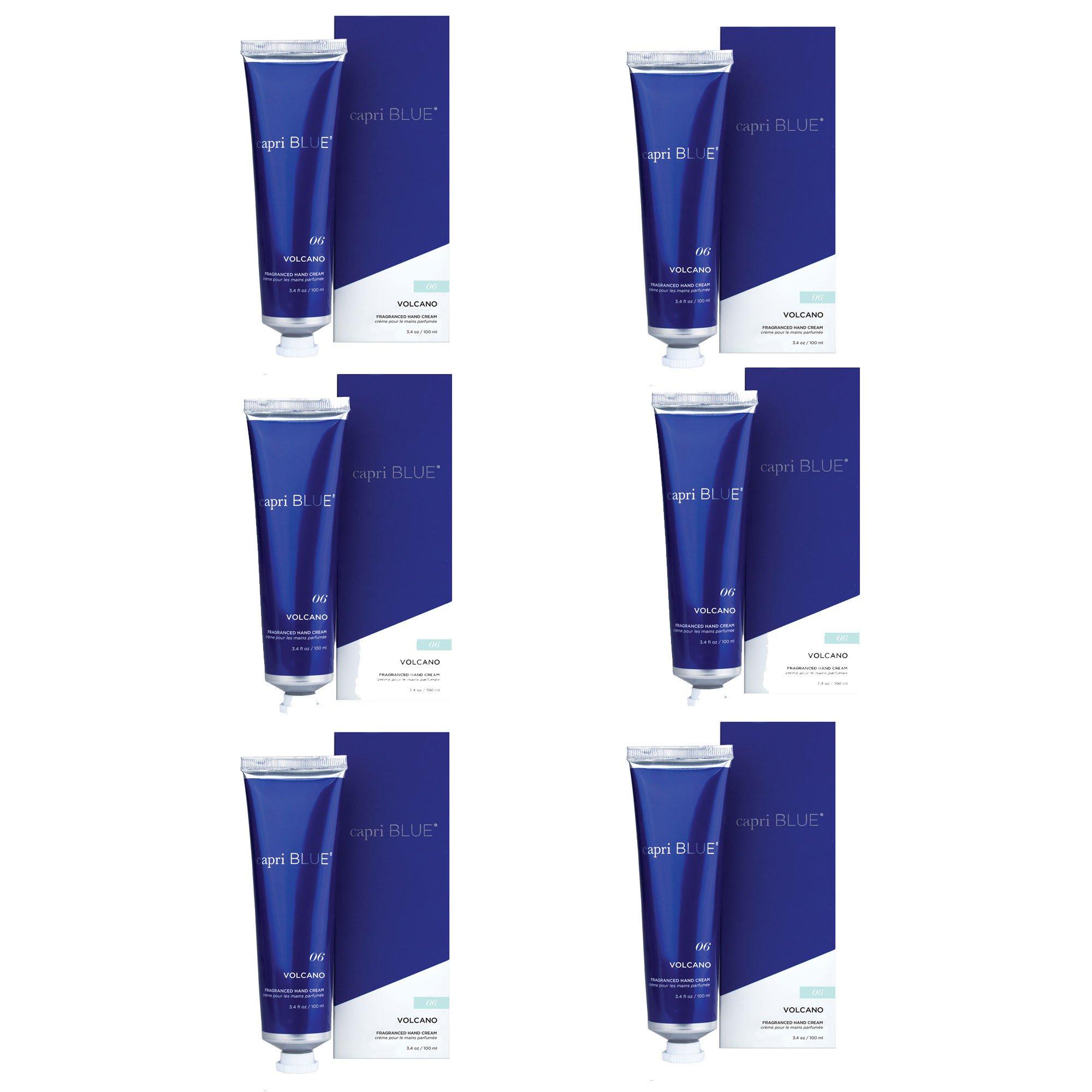 Capri Blue 3.4 oz Signature Hand Cream Volcano (6pk), Assorted, One Size
