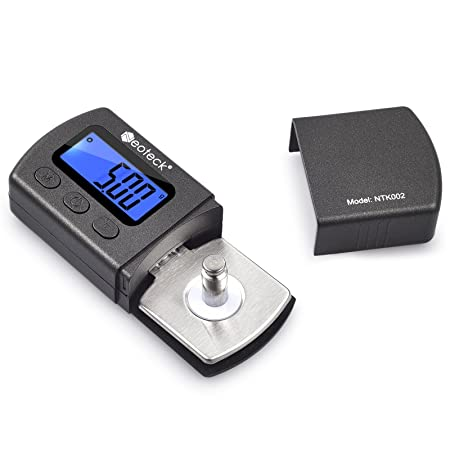 Review Neoteck Digital Turntable Stylus Force Scale Gauge 0.01g Blue LCD Backlight for Tonearm Phono Cartridge