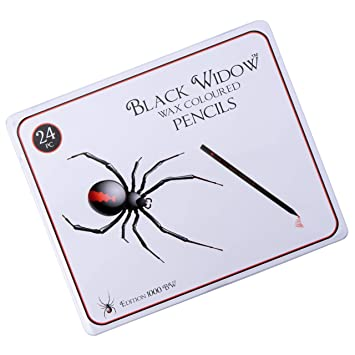 PRIME DAY DEALS * Black Widow ® Lápices de colores para adultos, el ...