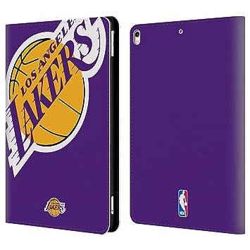Oficial NBA Los Angeles Lakers Cartera Funda Carcasa de piel para Apple iPad: Amazon.es: Electrónica