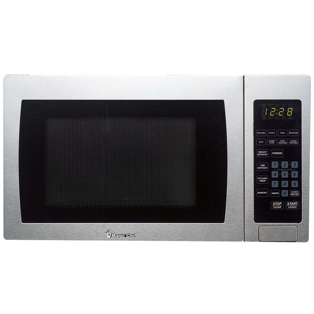 Magic Chef MCM990ST 0.9 cu.ft. Microwave, Stainless Steel