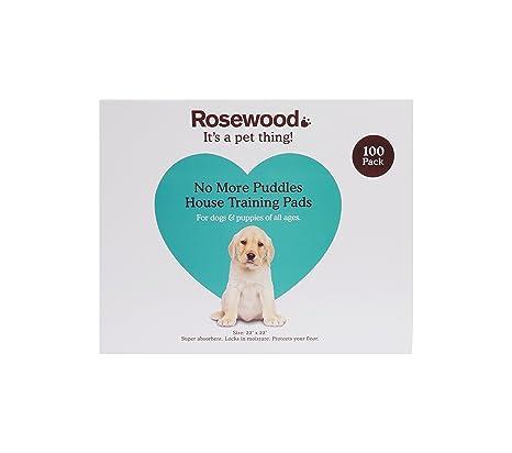 Rosewood Empapadores de Entrenamiento de 56 x 56 cm para Perros, 100 Unidades
