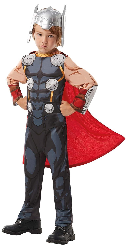 Disfraz infantil para ni/ños Rubies 640835L Marvel Avengers Thor Classic talla grande