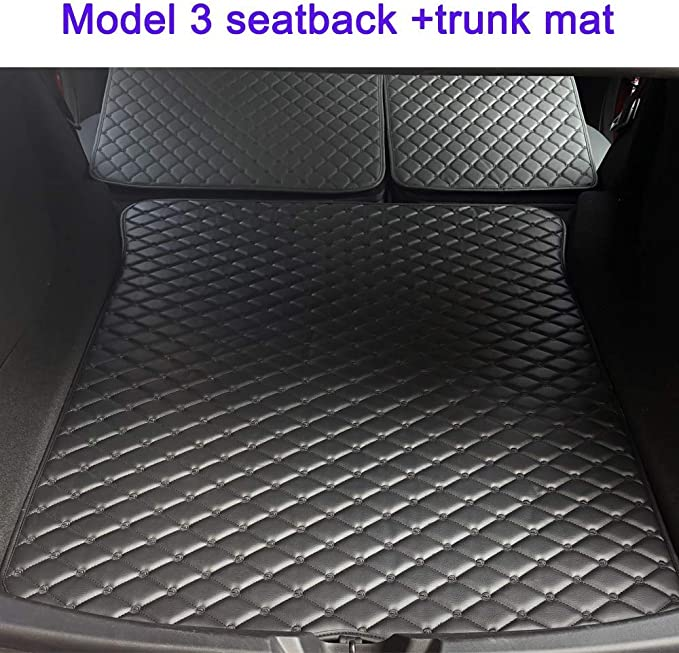 Tesla Model 3 Kfz Schutzmatte Für Im Kofferraum 2017 2020 4pcs Auto