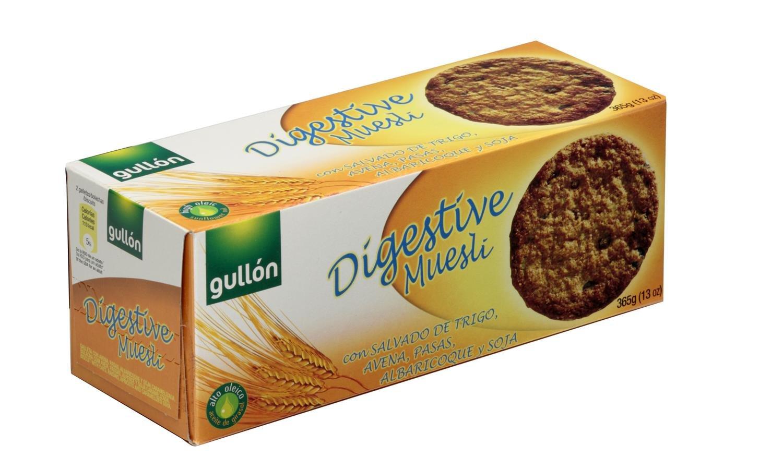 Gullón Digestiva Muesli Galleta Desayuno y Merienda, 365 gr: Amazon.es: Amazon Pantry