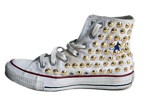 converse all star borchie oro