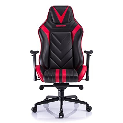 Aminiture Video Game Chair Big And Tall, High Back Recliner Chair,PU  Leather Computer