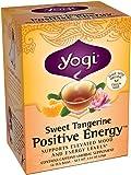 Yogi Sweet Tangerine Positive Energy, 1.02 Ounce (Pack of 6), Packaging May Vary