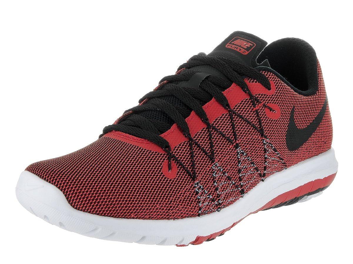 online retailer 4c886 40e91 Nike Kids Flex Fury 2 (GS) Unvrsty Red Blk Cl Gry White Running Shoe 7 Kids  US  Amazon.ca  Shoes   Handbags