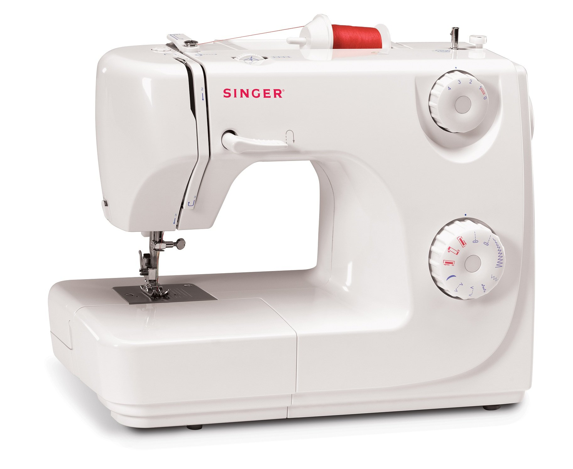Singer 8280 - Máquina de coser automática, 8 puntadas, color blanco product image