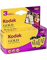 Kodak GOLD 200 Color Negative Film (35mm Roll Film, 24 Exposures, 3-Pack) - 6033971