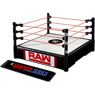 WWE Superstar Ring with 2 Swappable Ring Skirts, 1: Toys & Games