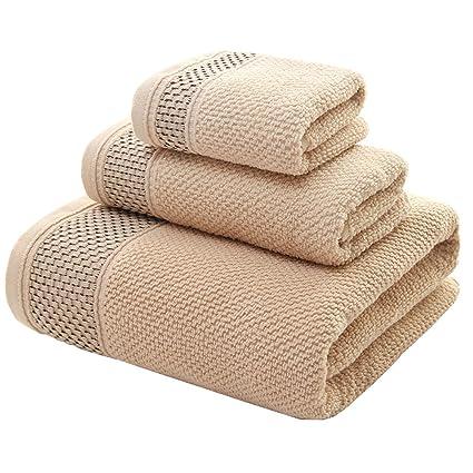 pidada 100% algodón toalla de baño conjuntos Super suave muy absorbente toallas de lujo,