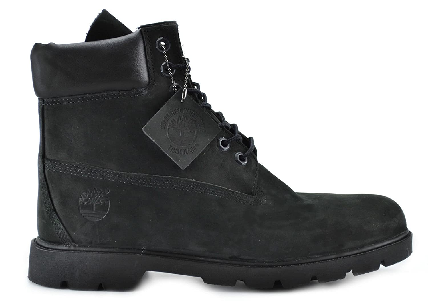 7b8b5db6bdd Timberland Men's 6-Inch Basic Waterproof Boots Black 19039