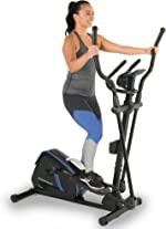 Exerpeutic Magnetic Flywheel Elliptical Trainer Machine for Home Gym with Natural