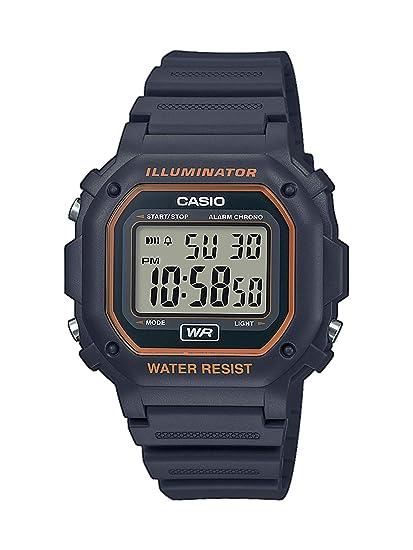 CASIO Reloj Digital para Unisex Adultos de Cuarzo con Correa en Resina F-108WH-8A2EF: Amazon.es: Relojes