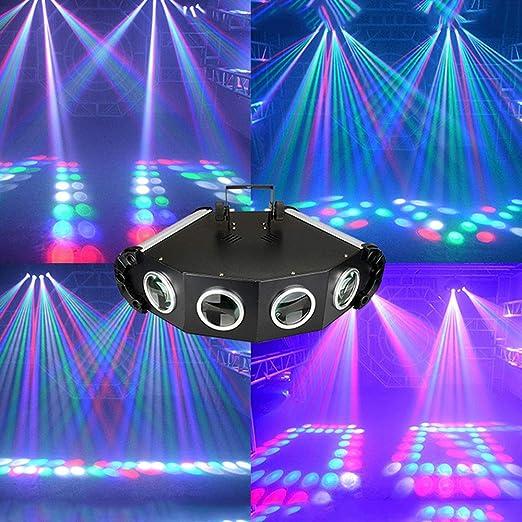 Luces De Fiesta Luz Disco Dj, Luz De Escenario Proyector De ...