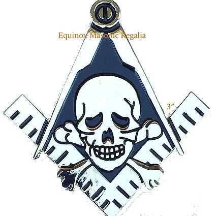 Amazon Freemasons Masonic Square And Compass Auto Emblem Chrome