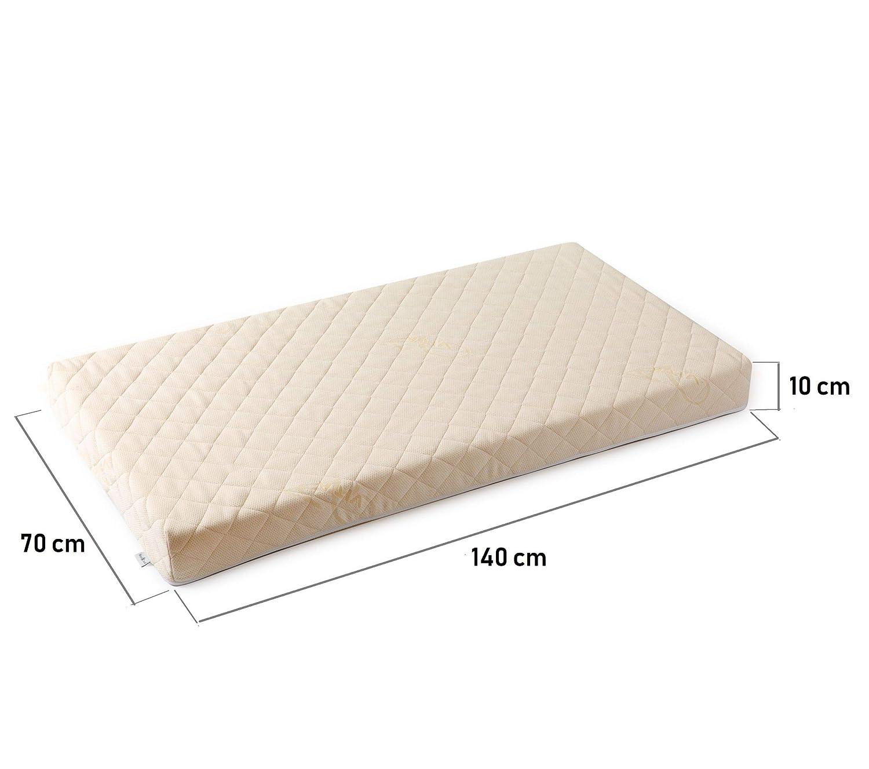 EU Produkt kein Latex 2-seitig Prima Naturmatratze BestCare/® Baby//Kleinkind Gr/ö/ße:120x60cm Babymatratze Kinderbettmatratze aus Pflanzenfasern kein chemischer Geruch