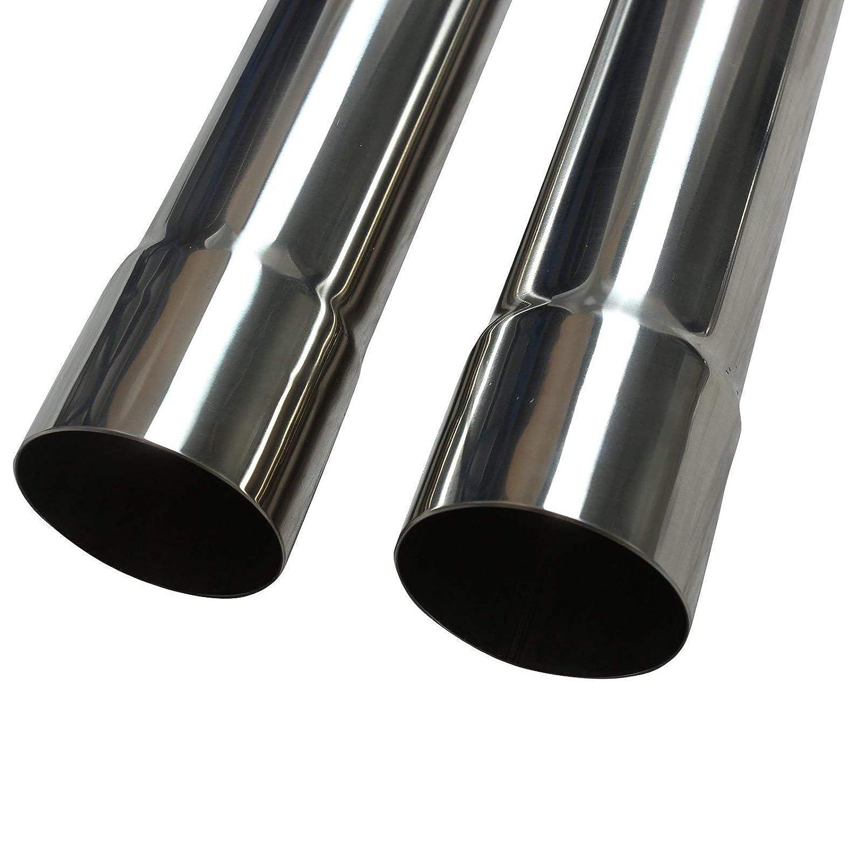 Amazon.com: Yjracing 304 - Juego de tubo de escape de acero ...