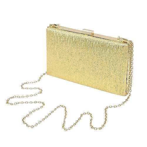 Elegante color sólido grande piel sintética brillo duro embrague noche bolsa bolso de mano: Amazon.es: Zapatos y complementos