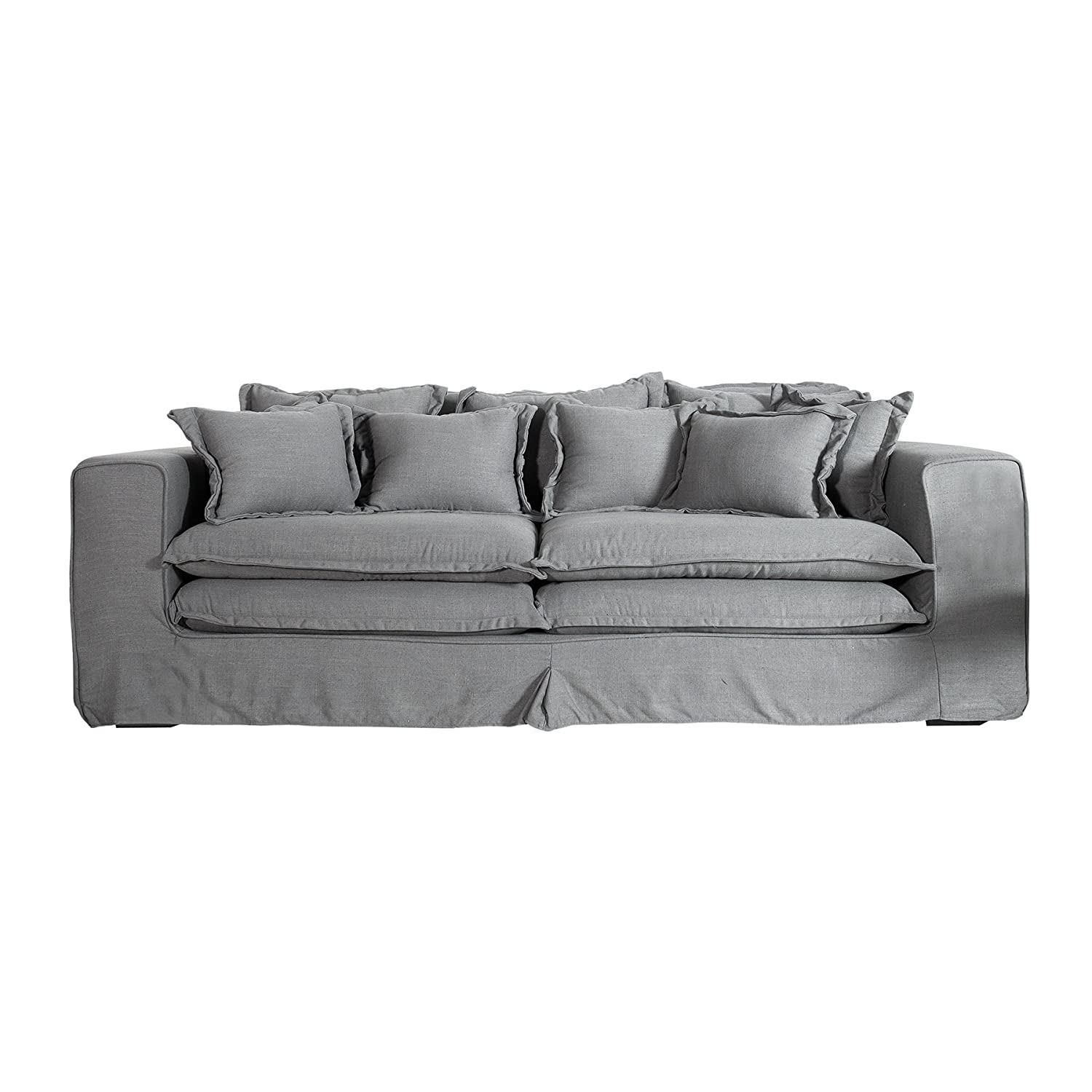 Ledersofa dunkelgrau  Sofas & Couches | Amazon.de