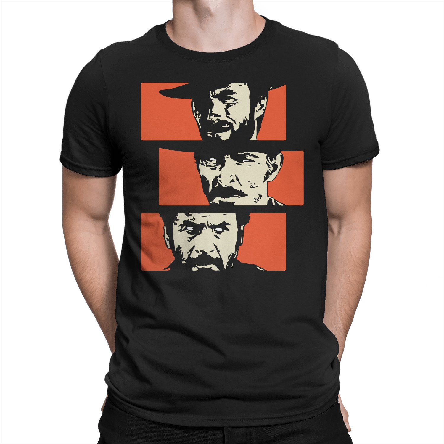5eb91ed8 Amazon.com: The Good, The Bad and The Ugly T-Shirt: Clothing