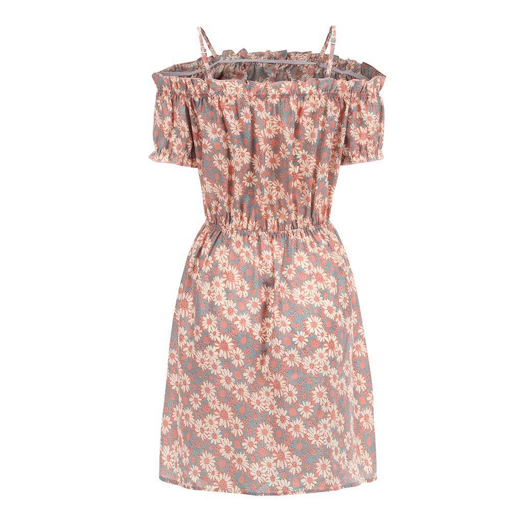 UINGKID Vestido de Playa para Mujer, Informal, Vestido de Encaje ...