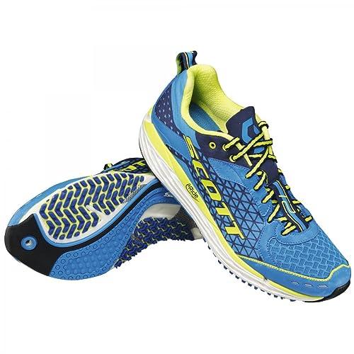 Scott - Zapatillas de Running Hombre Azul azul Talla:40.5: Amazon.es: Deportes y aire libre
