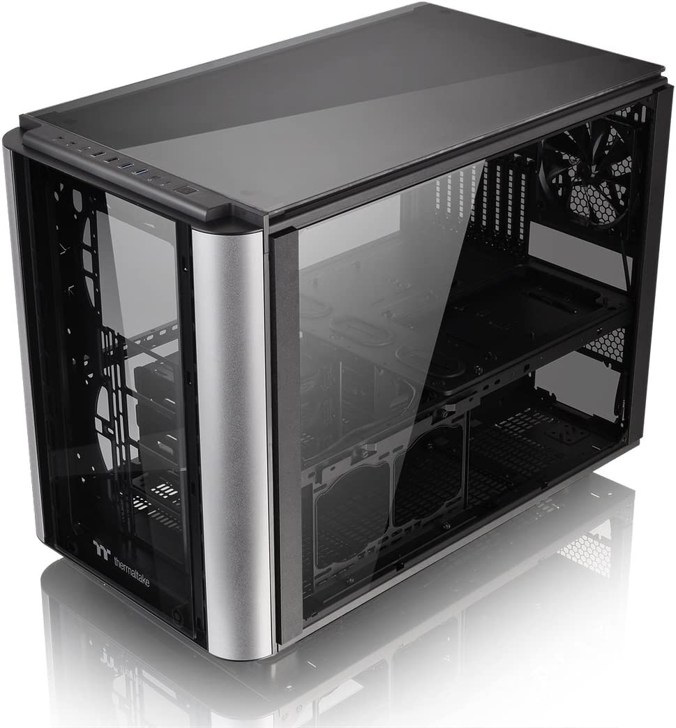 Thermaltake Level 20 XT PC-Case - Caja de Ordenador, Color Negro y ...