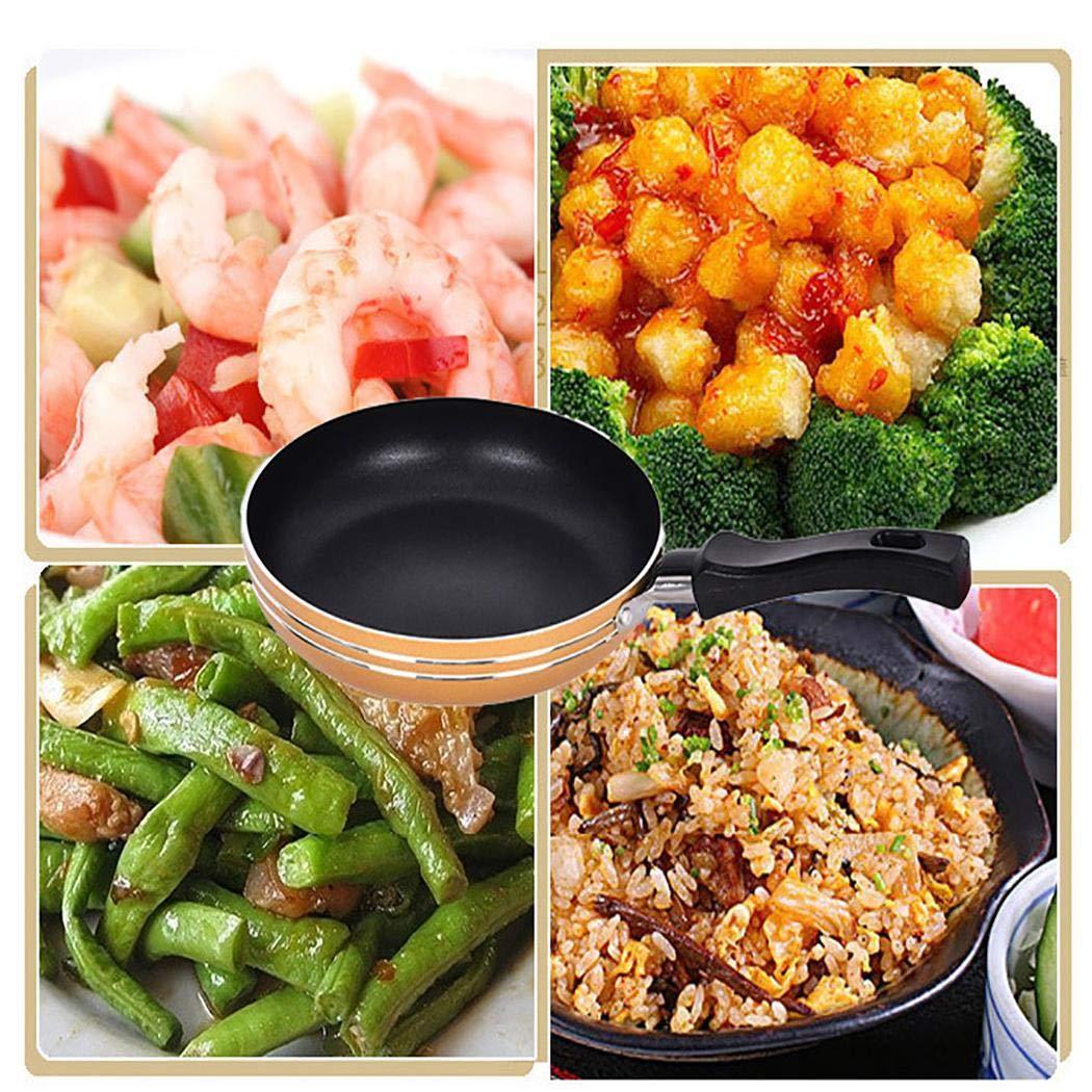 Garystan Mini Nonstick Frying Pan Skillet Portable Cookware Household Kitchen Tool Grill Pans