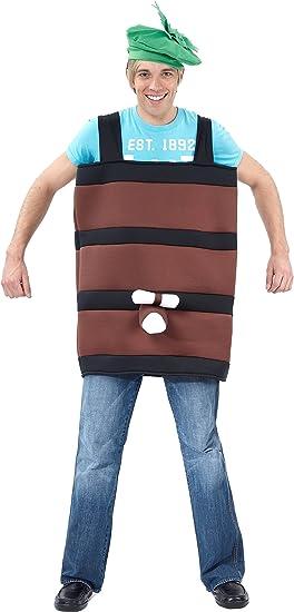 LUCIDA - Disfraz de barril de cerveza para hombre: Amazon.es ...