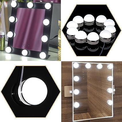 Hollywood vanity mirror light kit kohree make up light dimmable hollywood vanity mirror light kit kohree make up light dimmable light bulb lighting aloadofball Choice Image