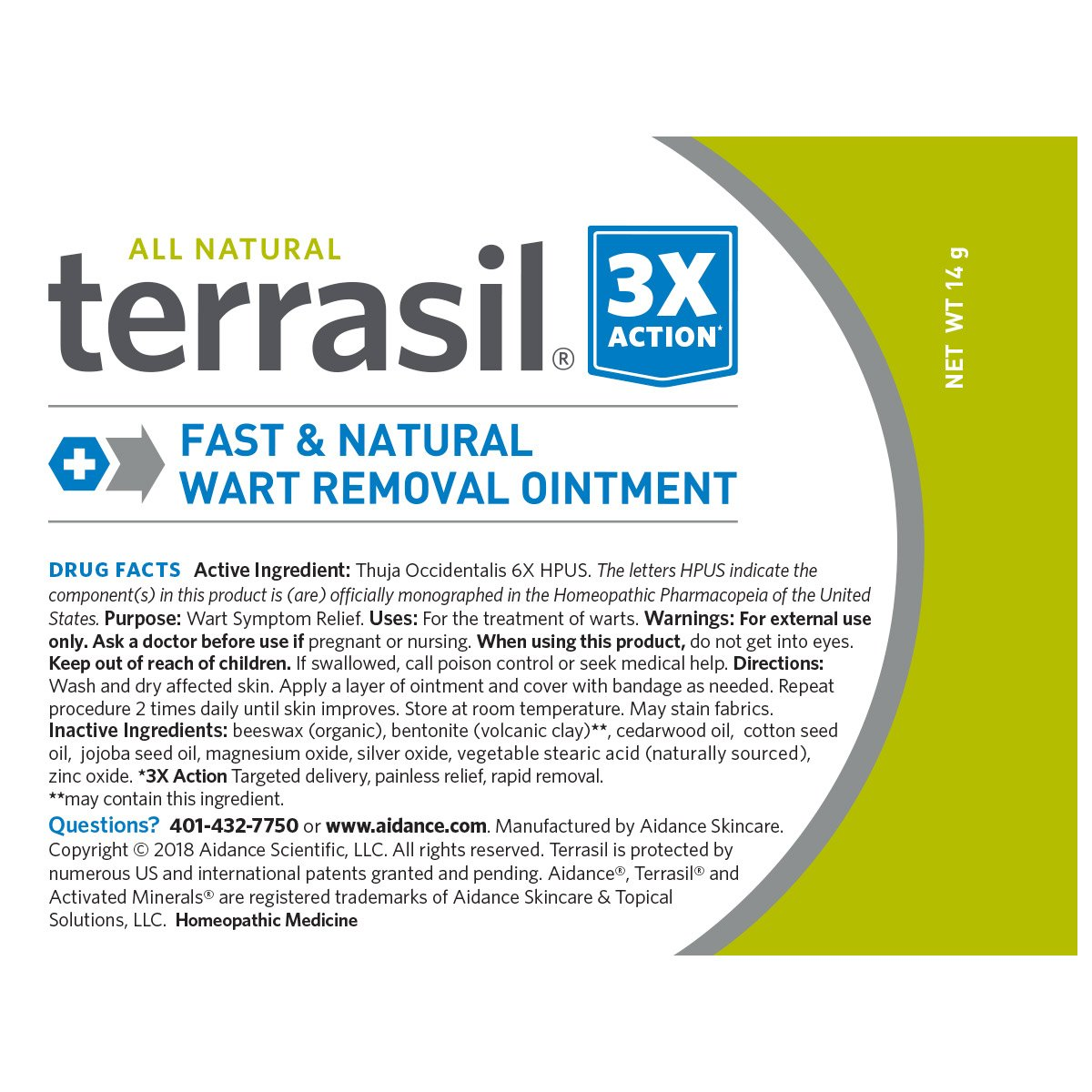 Wart Remover - Safe for Sensitive Skin Dr Recommended 100% Guaranteed All Natural Pain Free Salicylic Acid Free Patented Treatment for Plantar Genital Facial Warts by Terrasil by Aidance Skincare & Topical Solutions (Image #5)