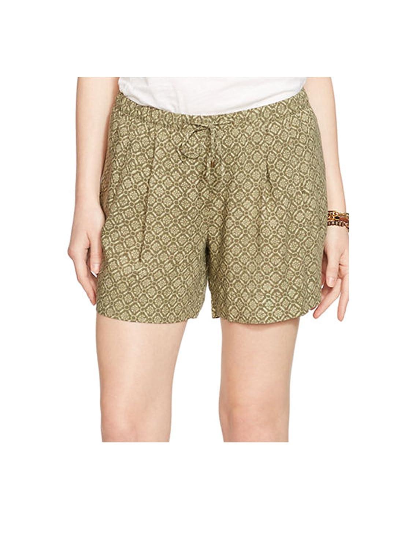 Lauren Ralph Lauren Geometric-floral Pleated Shorts (Large)