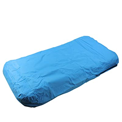 "72"" Blue Inflatable Blue Swimming Pool Mattress Lounger Float: Toys & Games"